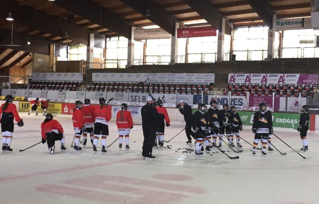 DEB U16 Frauen Training
