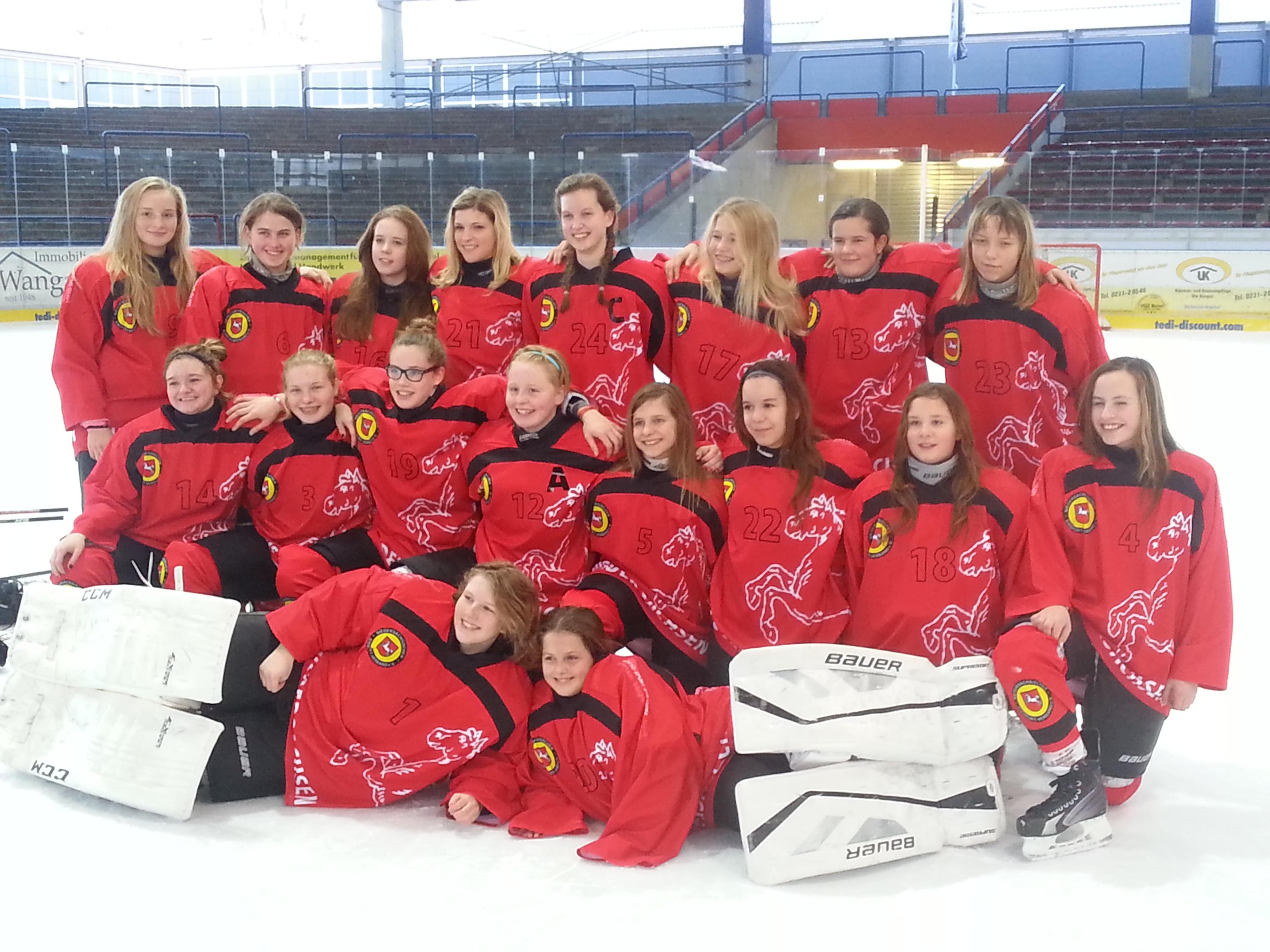 Niedersachsen-Sachsen-Anhalt Auswahl U15 Damen Eishockey